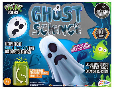 Halloween Experiment Weird Ghost Science Horror Set Kids Lab Activity Kit
