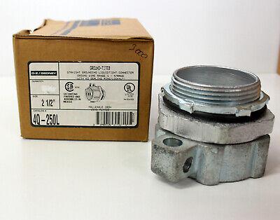 Ozgedney 4q-250l New 2-12 Straight Grounding Liquidtight Connector