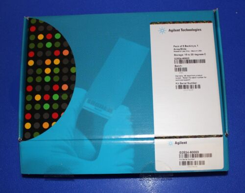 Agilent G2534-60003 Pack of 5 Backings 1 Array/Slide for Microarray Scanner