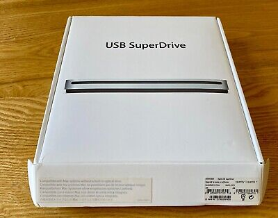 Apple USB SuperDrive DVD Re-Writer - Silver (MD564ZM/A)  Boxed