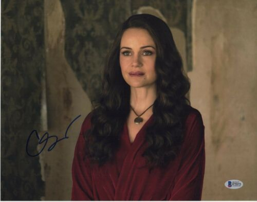 CARLA GUGINO SIGNED THE HAUNTING OF HILL HOUSE PHOTO 11X14 AUTOGRAPH BAS COA