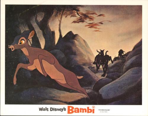BAMBI original DISNEY 11x14 lobby card movie poster