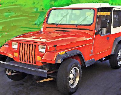 97-06 Jeep Wrangler TJ Scheibendichtung Glasdichtung Frontscheibe außen Bj