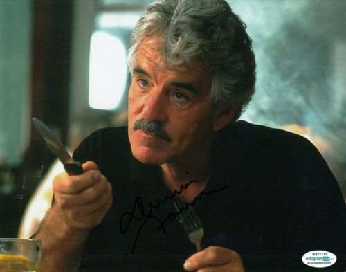 DENNIS FARINA signed (GET SHORTY) Movie 8X10 *Ray Bones Barboni* photo ACOA #3