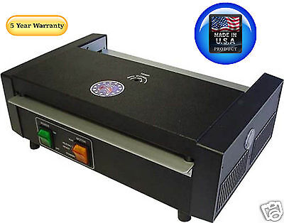 Tlc 6000t Pouch Laminator Machine With Thermometer 9-1316 5 Year Usa Warranty