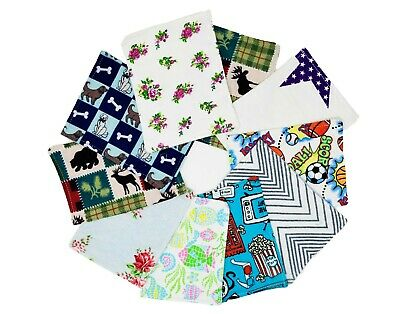 WC_Reusable 15 Baby Wipes 100% Cotton Flannel Cloth 2 Layers bulk best baby