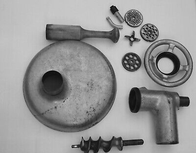 Vintage Meat Grinder Attachment For Hobart Mixer A200 Used