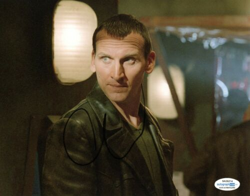 Christopher Eccleston Doctor Who Autographed Signed 8x10 Photo ACO