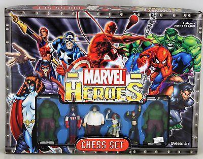 Marvel Heroes Chess Set Marvel Super Hero