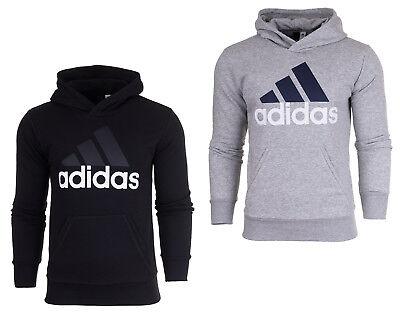 Adidas ESS Herren Kapuzenpullover Fleece Sweatjacke Sweatshirt  Adidas Fleece Pullover Sweatshirt