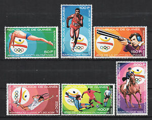 Guinea-1988-Olympic-Games-Barcelona-92-New-MNH