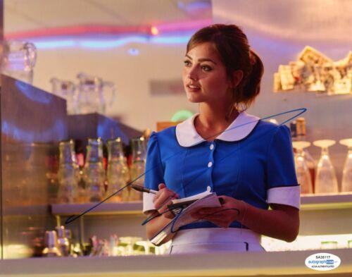 Jenna Louise Coleman Doctor Who Autographed Signed 8x10 Photo ACOA 2020-10