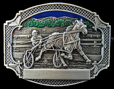 Horse Harness Races Trot Racing Equestrian Belt Buckle Buckles
