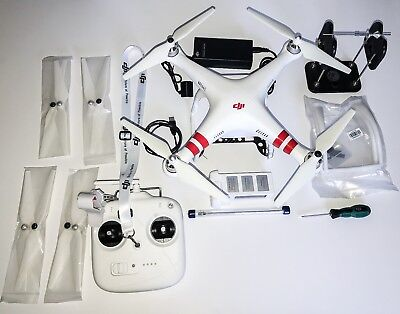 DJI Phantom 2  2.4G   V2.0  with Zenmuse H4-3D Gimbal New Battery and Armor Case