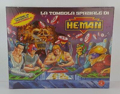 MOTU HE-MAN LA TOMBOLA SPAZIALE MATTEL 1989 - VINTAGE - NUOVO FACTORY SEALED