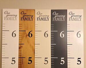 Professionally painted Growth Charts London Ontario image 1