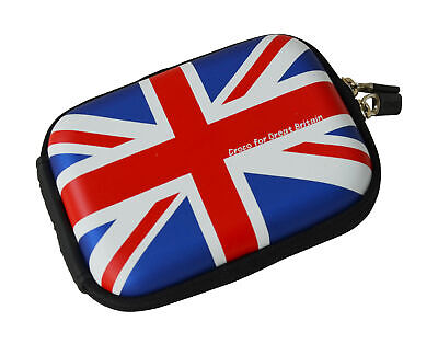 Croco® The Union Jack Flag SML Hard Case for Pentax Optio W10...