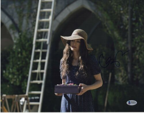 CARLA GUGINO SIGNED THE HAUNTING OF HILL HOUSE PHOTO 11X14 AUTOGRAPH BAS PSA COA