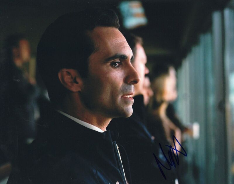 Nestor Carbonell Batman The Dark Knight Mayor Signed 8x10 Photo w/COA #1