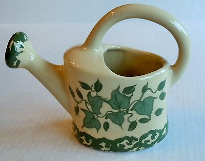Ceramic Alpine Pottery Watering Can w/Ivy