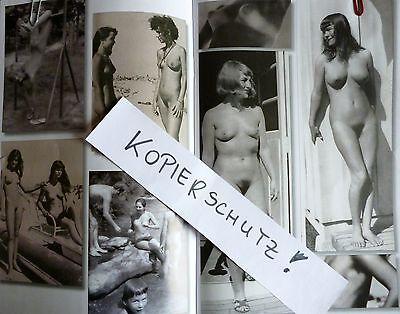 AKt Foto NACKT fkk 1959 Busen behaart Frau Jung Mädchen Girl gondel brüste sexy