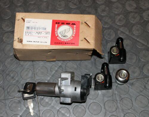 NOS Honda Lock set 1983 GL1100 GOLD WING 35010-MB9-780 GL 1100 New BINL
