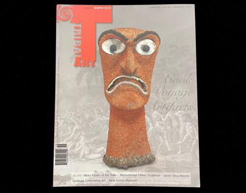TRIBAL ART MAGAZINE #58  WINTER 2010  COOK VOYAGE ARTIFACTS QUILEUTE ART  NKITA