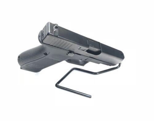 LOT 5 Handgun Pistol Gun Revolver Safe Storage Stand Display Holder Single Rack