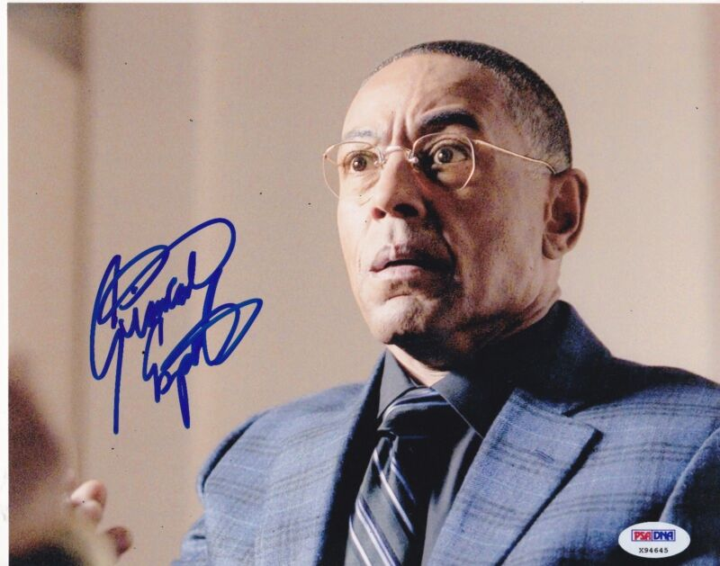 GIANCARLO ESPOSITO SIGNED 8X10 PHOTO BREAKING BAD GUSTAVO GUS PROOF PSA.DNA B
