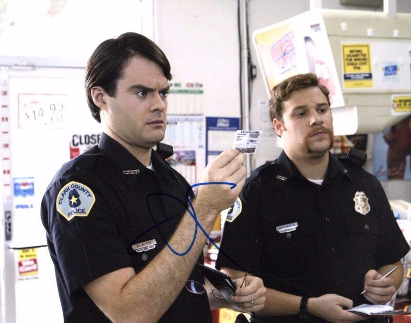 GFA Superbad Officer Michaels * SETH ROGEN * Signed 8x10 Photo AD4 COA