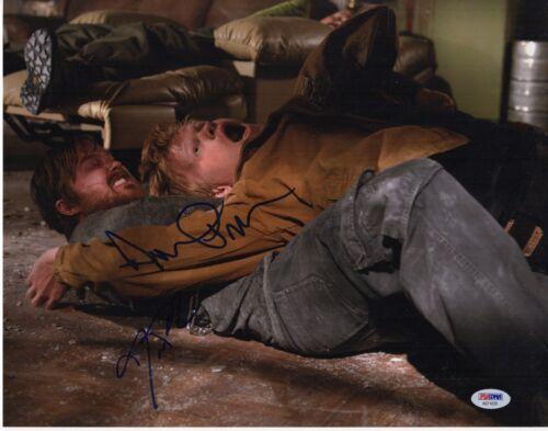 AARON PAUL JESSE PLEMONS SIGNED BREAKING BAD 11X14 PHOTO! AUTOGRAPH PSA DNA BAS!