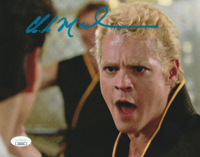 Chad McQueen Autograph 8x10 Photo The Karate Kid - Cobra Kai Signed JSA COA 2