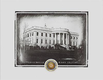 "The WHITE HOUSE.......actual WOOD SHAVINGS, President, Washington D.C, 8"" x 10"""