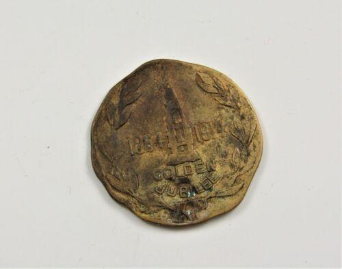 1947 Knights of Pythias Golden Jubilee  Medal/Token