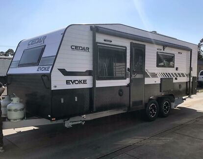 Brand New 22'6 Cedar Evoke White Caravan Campbellfield Hume Area Preview