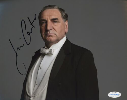Jim Carter Downton Abbey Autographed Signed 8x10 Photo ACOA 2020-2