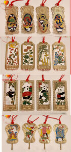 Wholesale40PCS-CHINESE-HANDMADE-Classic-CLOISONNE-ENAMEL-BOOKMARKS