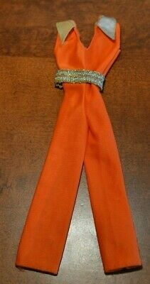 Barbie Vintage 1978 Best Buy Jumpsuit  Bright Orange #2553 - Orange Jumpsuit Buy