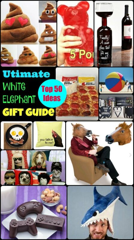 Top 50 White Elephant Gift Ideas: Extremely Ususual Gifts ...