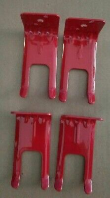 4-fork Style Wall Mount 510 20 Lb.size Fire Extinguisher Amerex Brackets-new