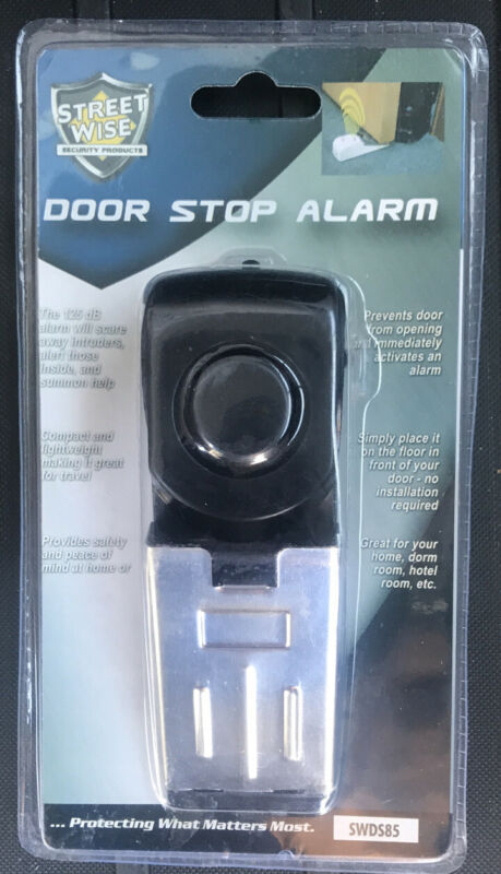 Streetwise Super Door Stop Alarm - Model SDS85 GUARANTEED TO FUNCTION