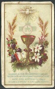 Estampa-antigua-de-Primera-Comunion-andachtsbild-santino-holy-card-santini