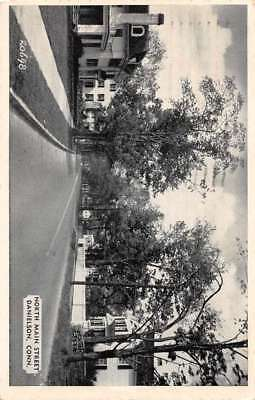Danielson Connecticut North Main Street Antique Postcard J77004