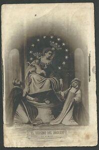 Estampa-antigua-Virgen-del-Rosario-andachtsbild-santino-holy-card-santini