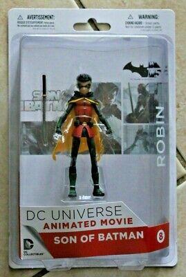 DC UNIVERSE DAMIAN WAYNE ROBIN SON OF BATMAN ANIMATED MOVIE FIGURE