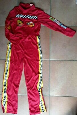 Rennfahrer Anzug Rennanzug Automechaniker cars 122 128 - Rennfahrer Anzug Kostüm