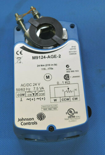 Johnson Supply Direct Coupled Actuator M9109-AGC-2