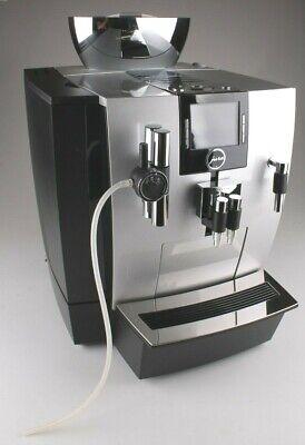 JURA Impressa XJ9 Excellent Coffee Expresso Machine Brilliant Silver 13637