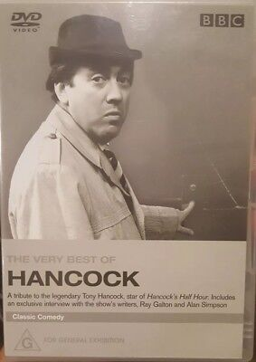 THE VERY BEST OF HANCOCK RARE DVD DELETED COMEDY TV SHOW SERIES TONY HALF
