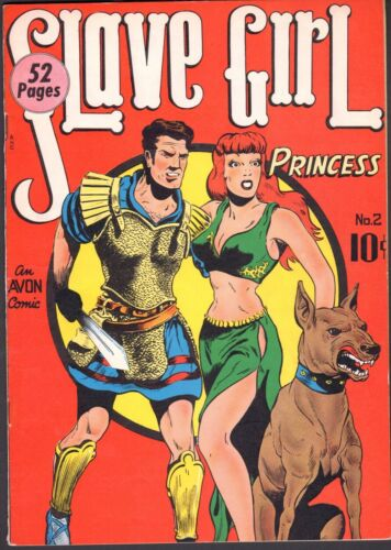 Slave Girl #2 F/VF (Avon 1949)